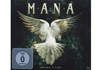 Maná - Drama Y Luz - (CD + DVD Video)
