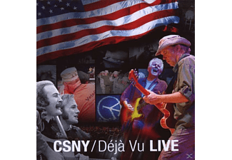 Crosby, Stills, Nash & Young - Déjá Vu Live (CD)