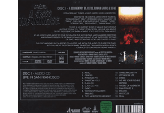 Justice - A Cross The Universe - (DVD + CD)