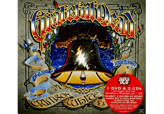 Grateful Dead - Crimson, White & Indigo - Philadelphia, July 7, 1989 [CD + DVD Video]