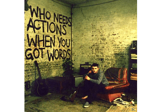 Plan B - Who Needs Actions When You Got Words - (CD)