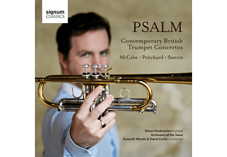 Orchstra Of The Swan, Simon Desbruslais - Psalm-Contemporary British Trumpet Concertos - (CD)
