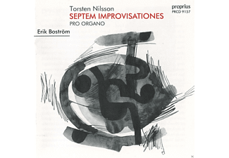 Erik Bostrom - Septem Improvisationes Pro Organo [CD]