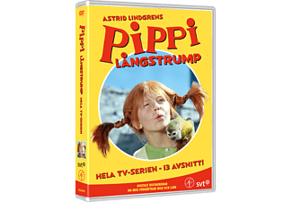 Pippi Långstrump Box Barn DVD