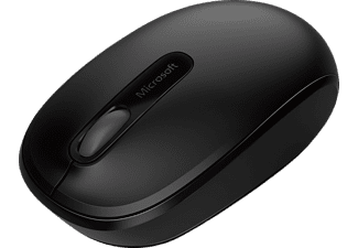 MICROSOFT Wireless Mobile Mouse 1850, Maus, kabellos, Schwarz