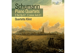 Quartetto Klimt - Piano Quartets E Flat Op.47, C Minor Anh. E1 - (CD)