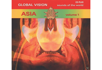 VARIOUS - Global Vision/Asia Vol.1 - (CD)