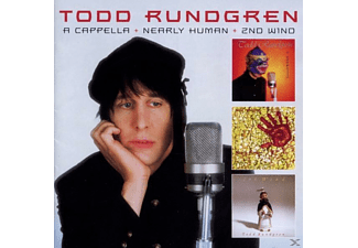 Todd Rundgren - A Capella+Nearly Human+2nd Wind - (CD)