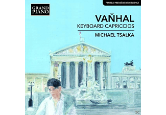 Tsalka Michael - Keyboard Capriccios - (CD)