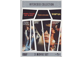Hitchcock Collection: Immer Ärger mit Harry / Familiengrab / Topas (3 Movie Set) - (DVD)