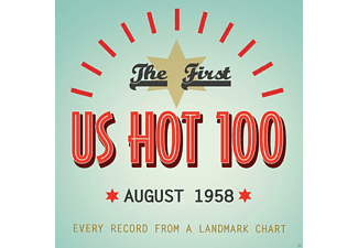 VARIOUS - The First Us Hot 100 August 1958 - (CD)