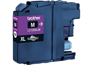BROTHER Original Tintenpatrone Magenta (LC-125XLM)