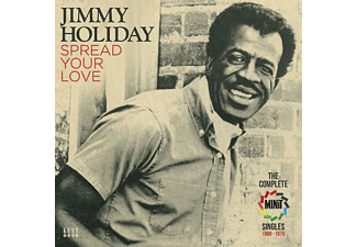 Jimmy Holiday - Spread Your Love-Complete Minit Singles 1966-197 [CD]
