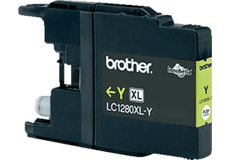 BROTHER Original Tintenpatrone Gelb (LC-1280XLY)