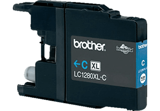 BROTHER Original Tintenpatrone Cyan (LC-1280XL-C)