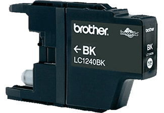 BROTHER Original Tintenpatrone Schwarz (LC-1240BK)