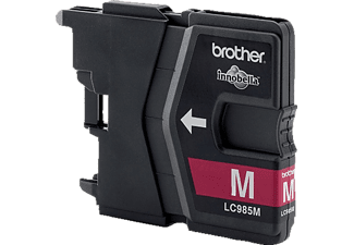 BROTHER Original Tintenpatrone Magenta (LC-985M)