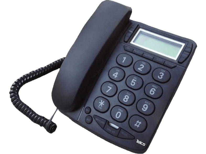 TELCO TM-PA036 Black - (01.258) βιβλία για το γραφείο  ενσύρματα τηλέφωνα   deactivated smartphones   smartlivin