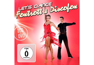 VARIOUS - Foxtrott & Discofox - Let's Dance 2cd & Dvd [CD + DVD]