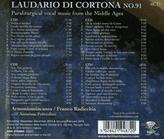 Anonima Frottolisti, Armoniosoicanto, Franco Radicchia - Laudario Di Cortona 91 [CD] jetztbilligerkaufen