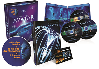Avatar – Extended Collector´s Edition: 3 Blu-rays mit Fanbuch - (Blu-ray)