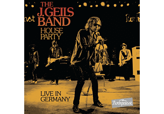 The J. Geils Band - House Party-Live In Germany - (CD + DVD)