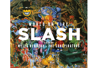 Slash - World On Fire - (Vinyl)