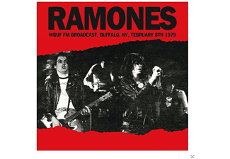 Ramones - Wbuf Fm Broadcast, Buffalo, Ny Feb.8th 1979 - (CD)