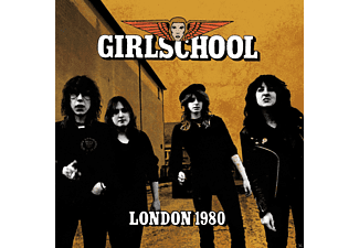 Girlschool - London 1980 [CD]