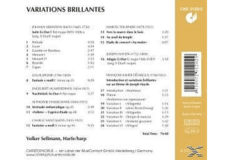 Volker Sellmann - Variations Brillantes - (CD)