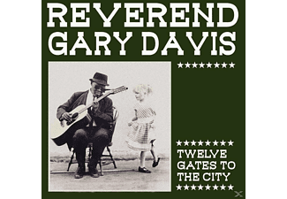 "Gary ""reverend"" Davis - Twelve Gates To The City - (Vinyl)"