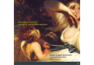 Berkhout - Vivaldi: Concertos And Cantatas With Bassoon - (CD)