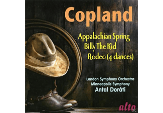 London Symphony Orchestra, Minneapolis Symphony Orchestra - Appalachian Spring / Billy The Kid / Four Dance Episodes From Romeo - (CD)