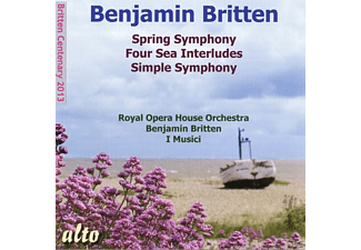 Felix Ayo, Norma Procter, I Musici, Royal Opera House Orchestra, Pears Peter, Jennifer Vyvyan - Spring Symphony/Four Sea Interludes - (CD)
