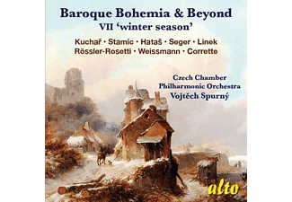Czech Chamber Philharmonic Orchestra - Baroque Bohemia & Beyond VII 'Winter Season' - (CD)