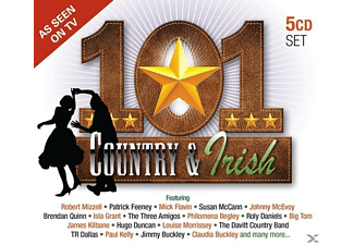 VARIOUS - 101 Country & Irish - (CD)