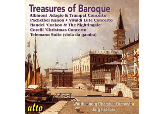 Färber/Württemberg KO - Treasures Of The Baroque - (CD)