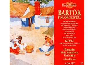 Adam Fischer, Hungarian State Symphony Orchestra - Bartok For Orchestra - (CD)