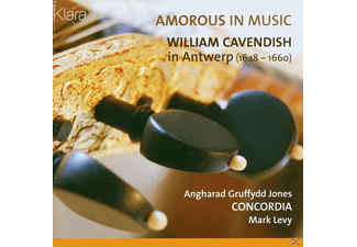 Gruffydd Jones, Jones/Concordia/Levy - Amorous In Music - (CD)