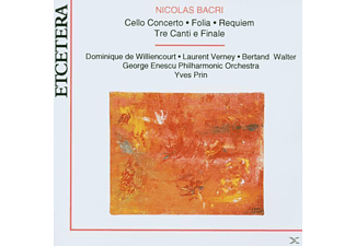 Verney - Cello Concerto/Folia/Requiem - (CD)