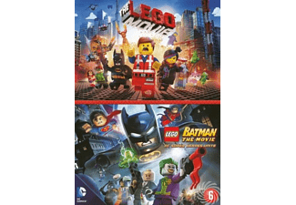The Lego Movie & Lego Batman: The Movie | DVD