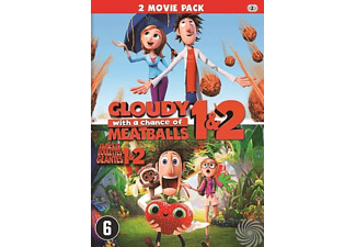 Cloudy With A Chance Of Meatballs 1 & 2 | DVD