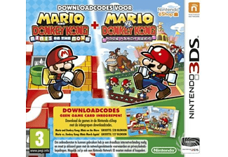 Mario & Donkey Kong - Mini's On The Move/Mini's March Again | 3DS