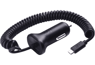 ISY Chargeur voiture microUSB (ICC 3000)