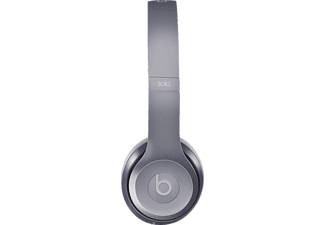 BEATS Solo2, On-ear Kopfhörer, kabelgebunden, 1.25 m Kabel, Royal stone grey