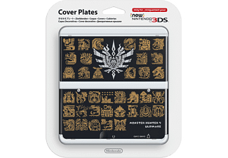 NINTENDO New 3DS Cover Plate - Monster Hunter 4 Svart