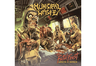 Municipal Waste - The Fatal Feast-Waste In Space - (CD)