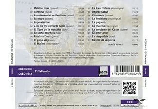 Various - Colombie - El Vallenato - (CD)