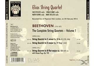 Elias String Quartet - The Complete String Quartets Vol. 1 / Sämtliche Streichquartette Vol. 1 [CD]