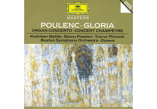 VARIOUS, Battle/Ozawa/BSO/Preston/+ - Gloria/Orgelkon./Con.Champetre - (CD)